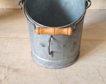 """Petite Main Pelle En Métal Noir 5/"""" Pelle à charbon Feu Accessoires Cendres Dust Pan"""