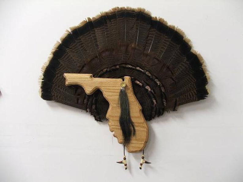 The Taxidermists Woodshop Black Walnut Turkey Mounting Kit 01