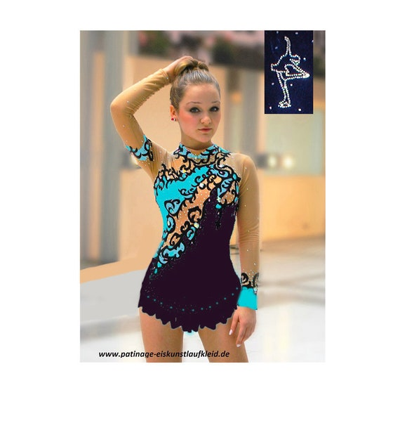 RG Leotard competition  rhythmic gymnastics leotard acrobatics suit Acrobatic Rock/'n Roll Twirling dance dress