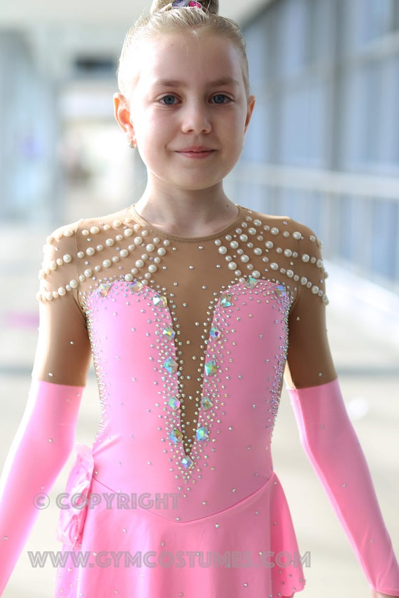 show dance Acrobatic Rock/'n/'Roll roller skating dress Twirling, Masterclass * *  figure skating dress