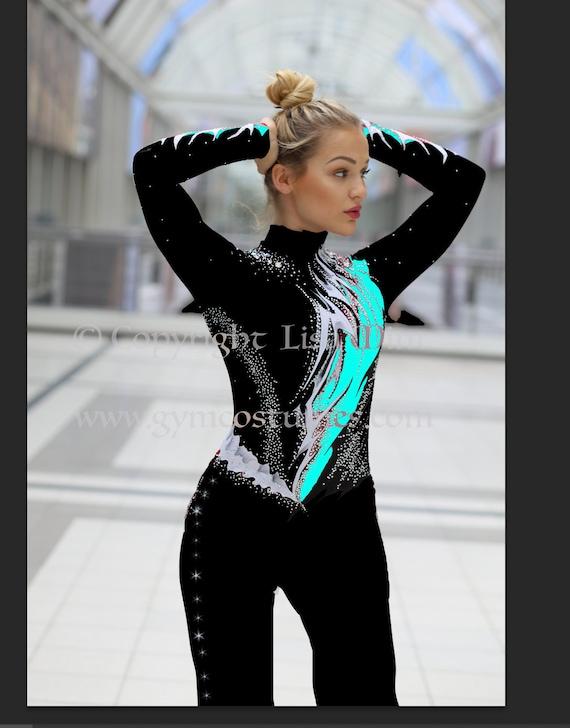 rope acrobatics Skating aerial acrobatics Masterclass Acrobatics suit Vaulting suit vaulting circus suit contortion acrobatics suit