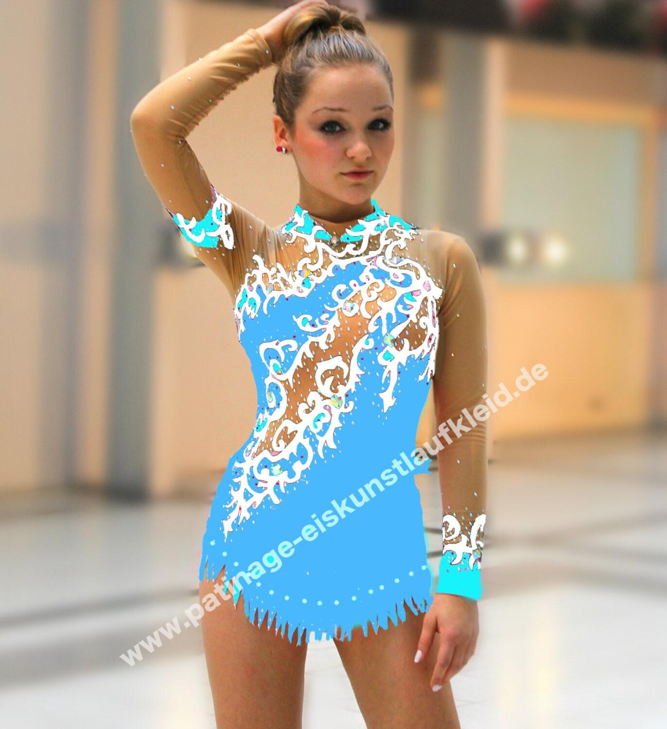 RSG-Anzug Anzug für rhythmische Sportgymnastik Rhythmische   Etsy