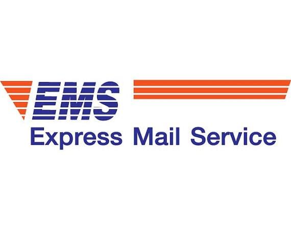 get your ems express mail service gift for her etsy. Black Bedroom Furniture Sets. Home Design Ideas