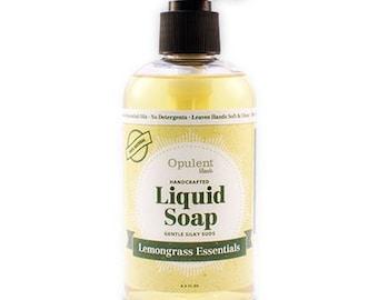 Natural Liquid Soap - Lemongrass