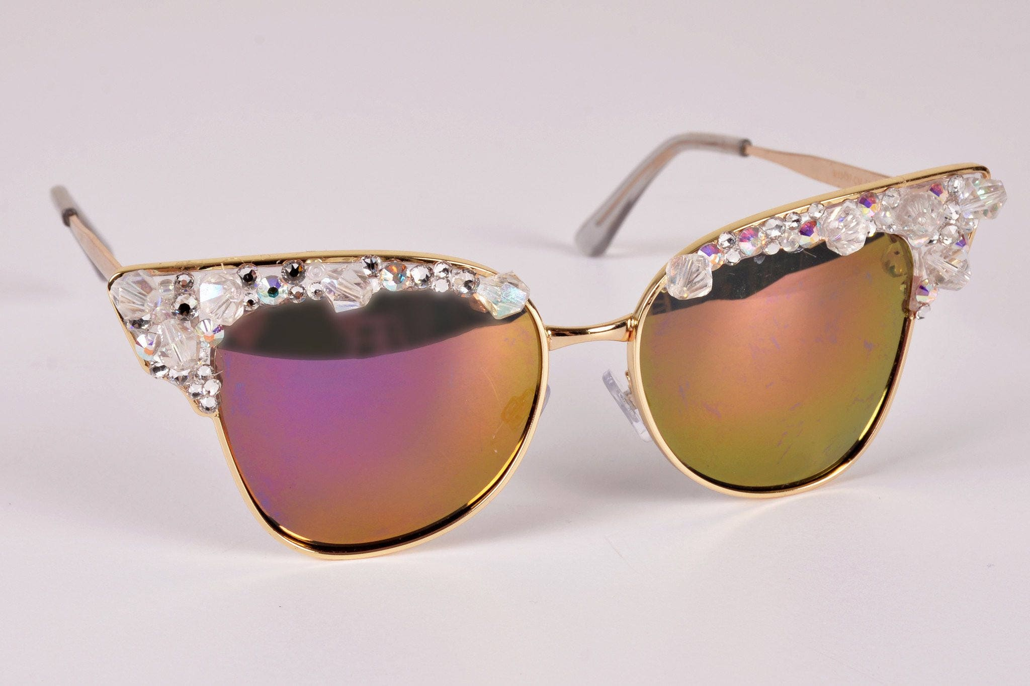 5c984c89d1 Custom sunglasses bling sunglasses-cute swarovski crystal