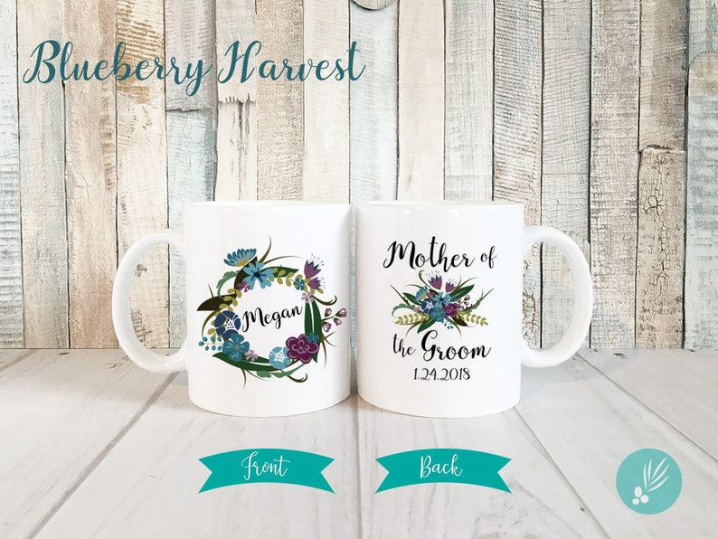 Gift for Mother of the Groom Gift Personalized Mug image 0