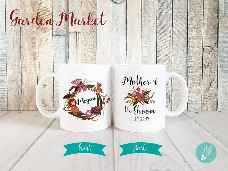 Mother of Groom Mug Name Gift for Mother of the Groom Gift image 0
