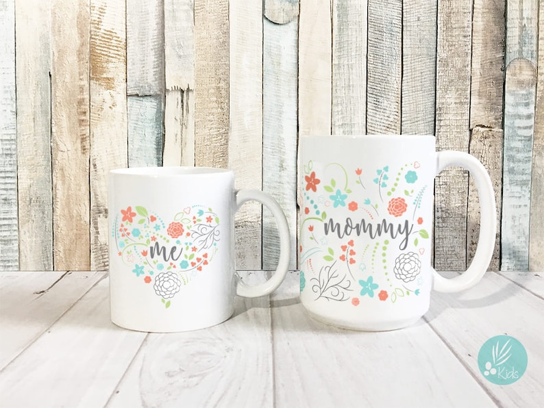 Mothers Day Mug Set Birthday Gifts for Mom Gifts Mommy and image 0