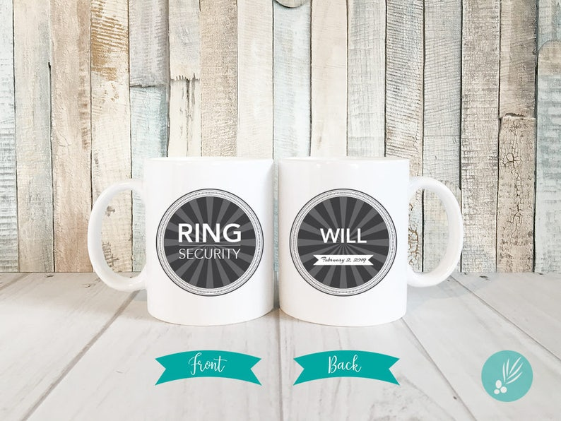 Personalized Ring Bearer Gift Ideas for Boys Hot Chocolate image 0