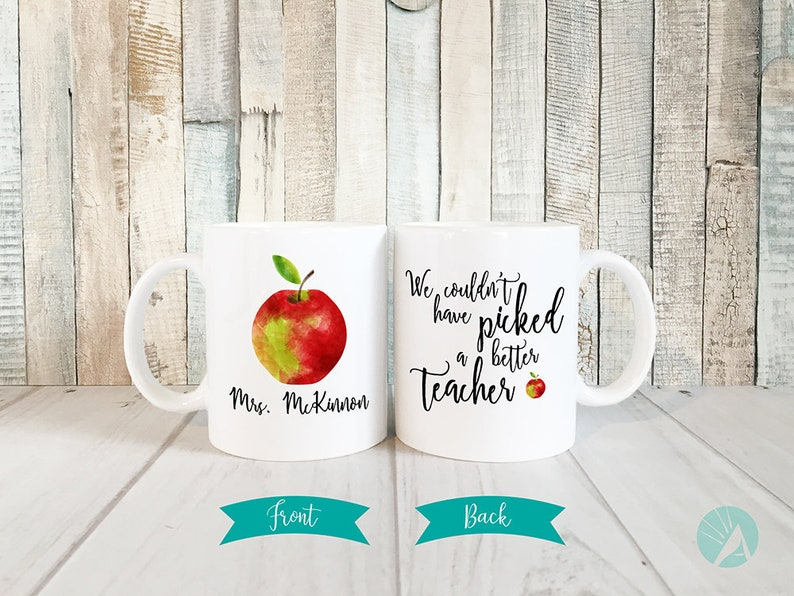 Personalized Teacher Mug Teacher Gifts Personalized Teacher image 0