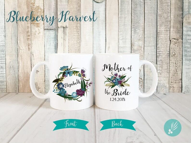 Personalized Mother of Bride Gift Mug Mother of the Bride Mug image 0