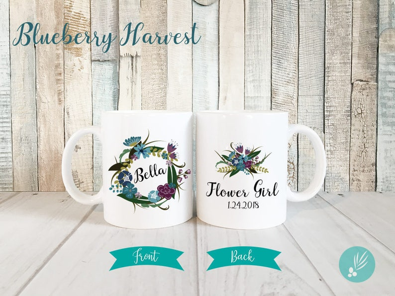 Personalized Flower Girl Cup Gift Flower Girl Proposal Gift image 0