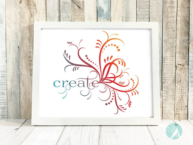 Inspirational Art Print Studio Decor Prints Motivational image 0