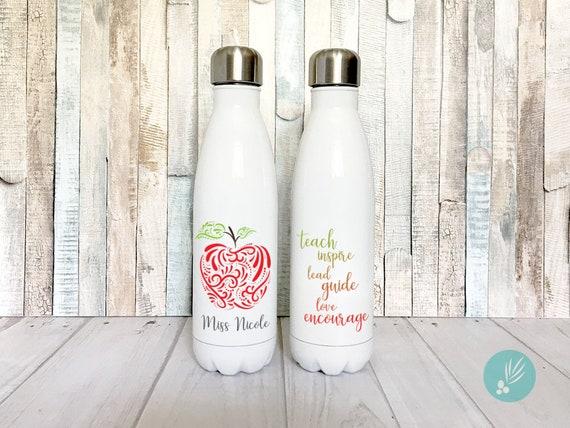 Teacher Appreciation Gift Stainless Steel Water Bottle For