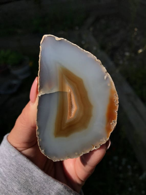 Lacey Agate Geode