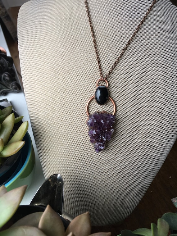Purple Midnight Pendant