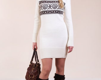 Knitted dress 4447