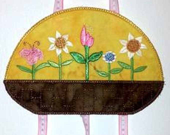 Seasonal Mobile - Spring  ( 4 Machine Embroidery Designs for PROJECT from ATW )