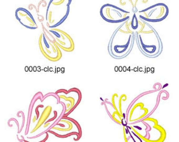 Art-Deco-Butterflies ( 10 Machine Embroidery Designs from ATW ) XYZ17E