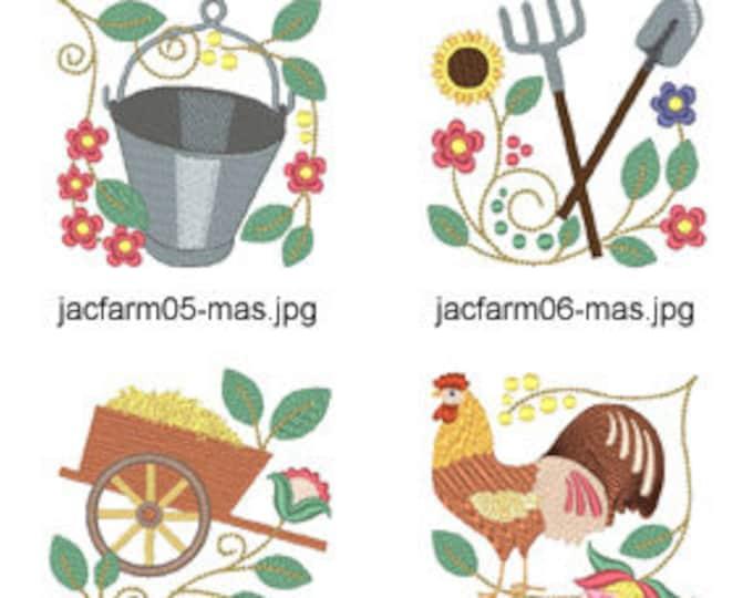 Jacobean-Farm-MAS-5x7 ( 15 Machine Embroidery Designs from ATW ) XYZ17D