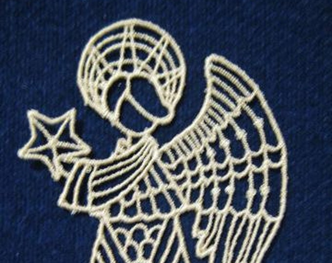 FSL Angels ( 10 Machine Embroidery Designs from ATW )