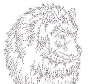 Keeshond Dogs  ( 10 Machine Embroidery Designs from ATW - 6 @ 4x4 & 4 @ 5x7 )