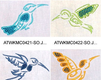 Cutwork-Hummers ( 10 Machine Embroidery Designs from ATW ) XYZ17F