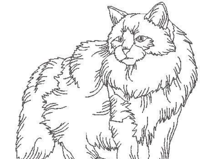 Ragamuffin Cats  ( 10 Machine Embroidery Designs from ATW )