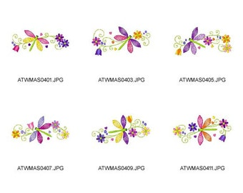 Firefly-Colors ( 10 Machine Embroidery Designs from ATW ) XYZ17B