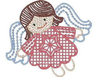 FSL Angels MultiColor-LM (10 Machine Embroidery Designs from ATW )