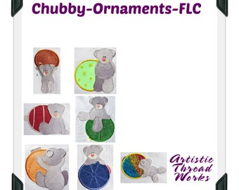 Chubby-Ornaments-FLC ( 7 Machine Embroidery Designs from ATW )