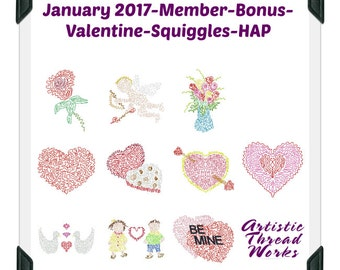 Valentine-Squiggles-HAP  ( 10  Machine Embroidery Designs from ATW ) XYZ17A