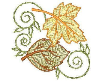 Jacobean-Leaves  ( 20 Machine Embroidery Designs from ATW )