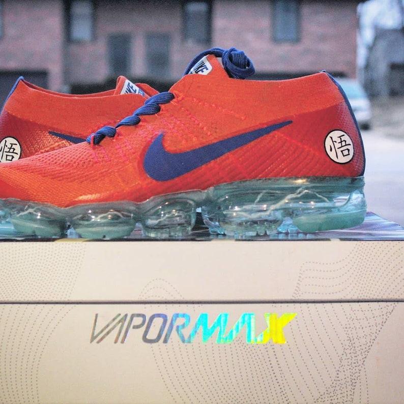 dafa48d3b605c Nike Vapormax x Dragonball Z DBZ Goku Nike ID