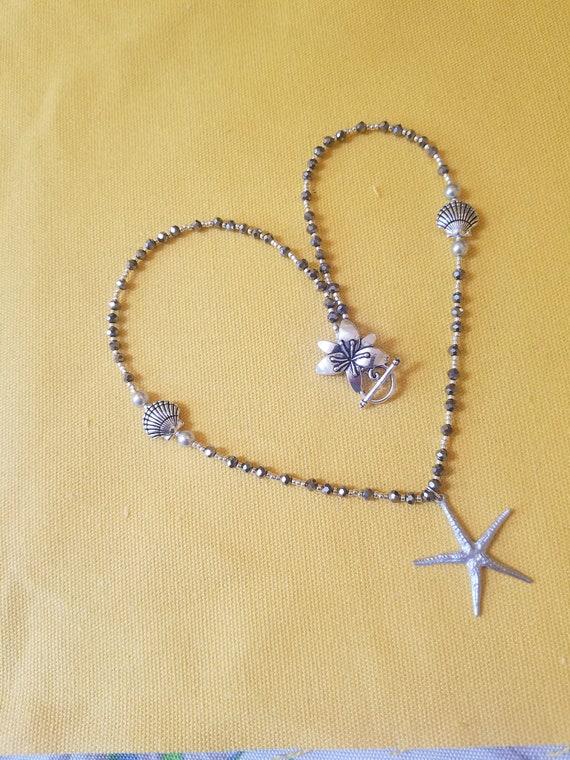 Handmade Sterling Silver Cape Cod Starfish Necklace Pendant