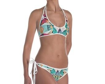 Triangle & Diamond Bikini