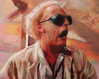 Back to the Future: Doc Brown (PRINT)
