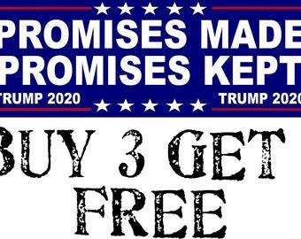 """No Collusion Just Democrat Delusion Funny Donald Trump Bumper Sticker 8.8/"""" x 3/"""""""