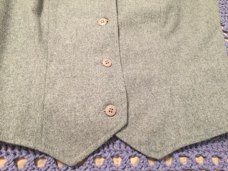 Vintage Grey Vest