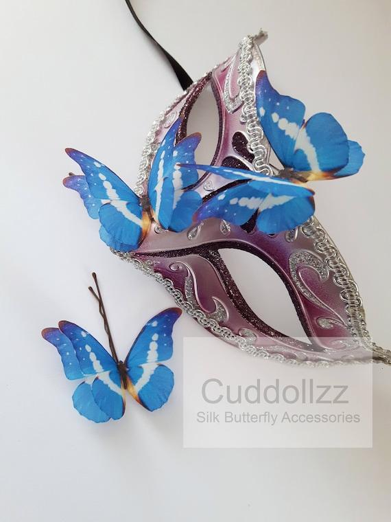 Hermoso Mariposa Azul morfo Coche Pegatina De Vinilo-Seleccionar Tamaño