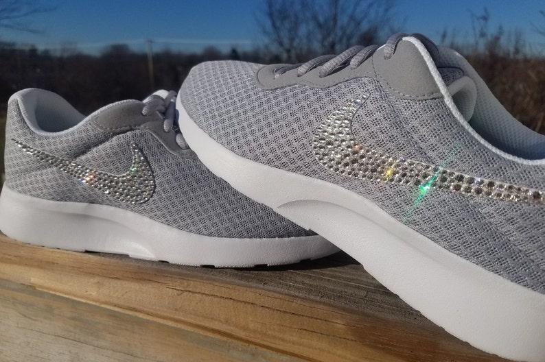 688f357ff80b FREE SHIPPING Swarovski® Nike® Shoes Bling Nike Tanjun Shoes