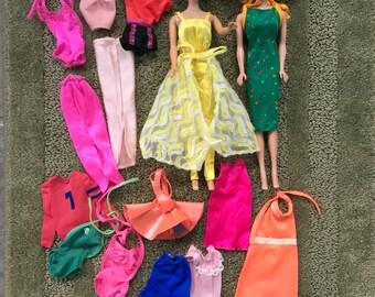 New Handmade For Barbie Dress Violin Music Sheet Bow For Barbie Clothes 4 Pc Set