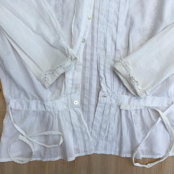 Blouse Antique Women's Shirt 1800s - image 6