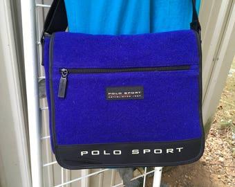 Vintage Ralph Lauren Polo Messenger Bag