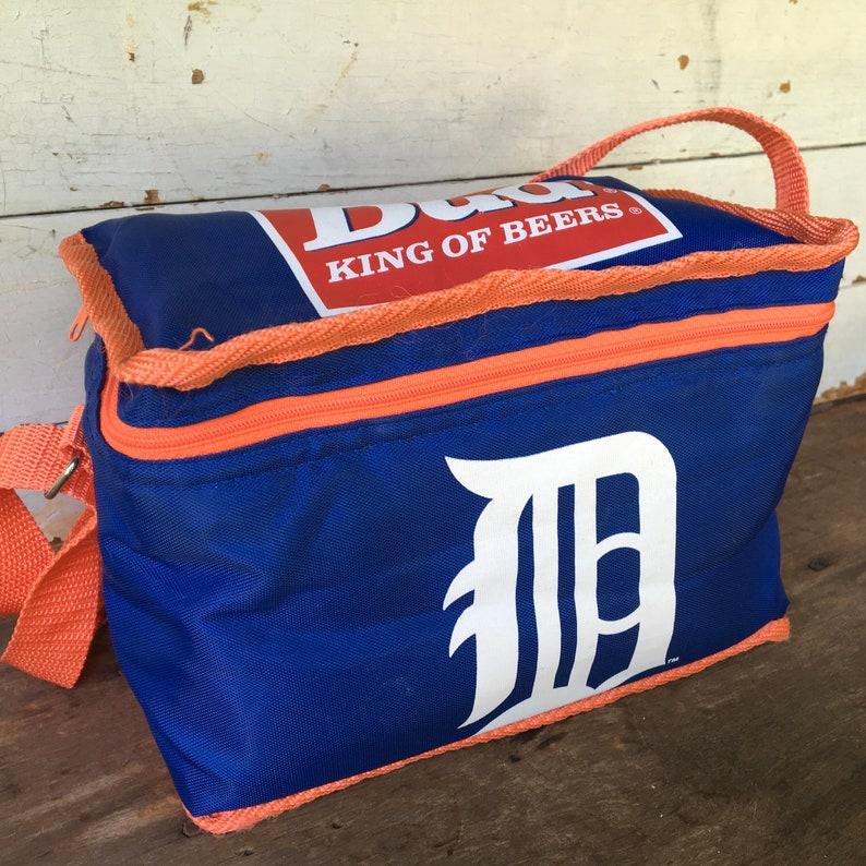 Detroit Tigers Vintage 6 Pk Budweiser Beer Soft Cooler