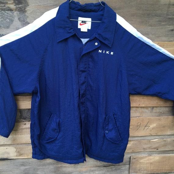 0947934d02 Vintage Nike Windbreaker Mens Large Lined Jacket Parka