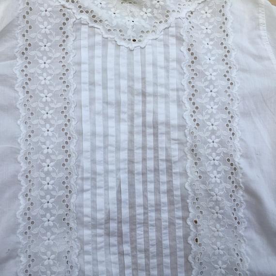 Blouse Antique Women's Shirt 1800s - image 8