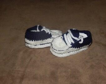 Navy Blue baby Chuck Taylors
