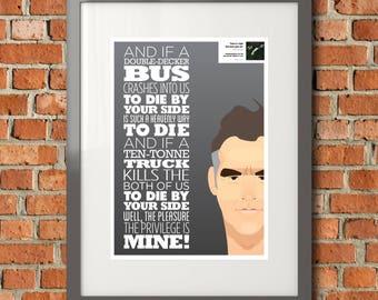 Smiths / Morrissey Lyric Pic