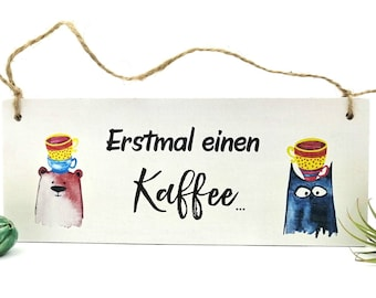 Office sign coffee, sign for terrace and café, wooden sign with saying, funny door sign, coffee sign